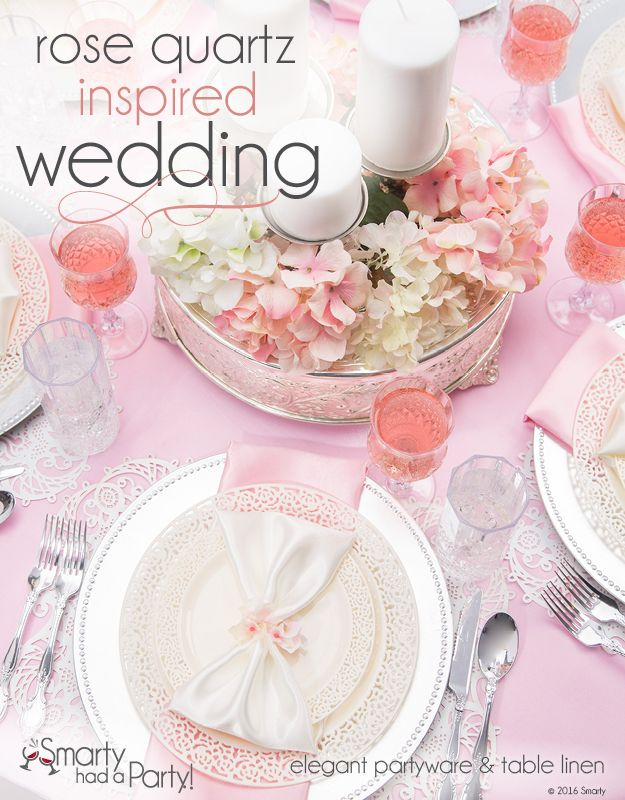 Rose Quartz Inspired Wedding