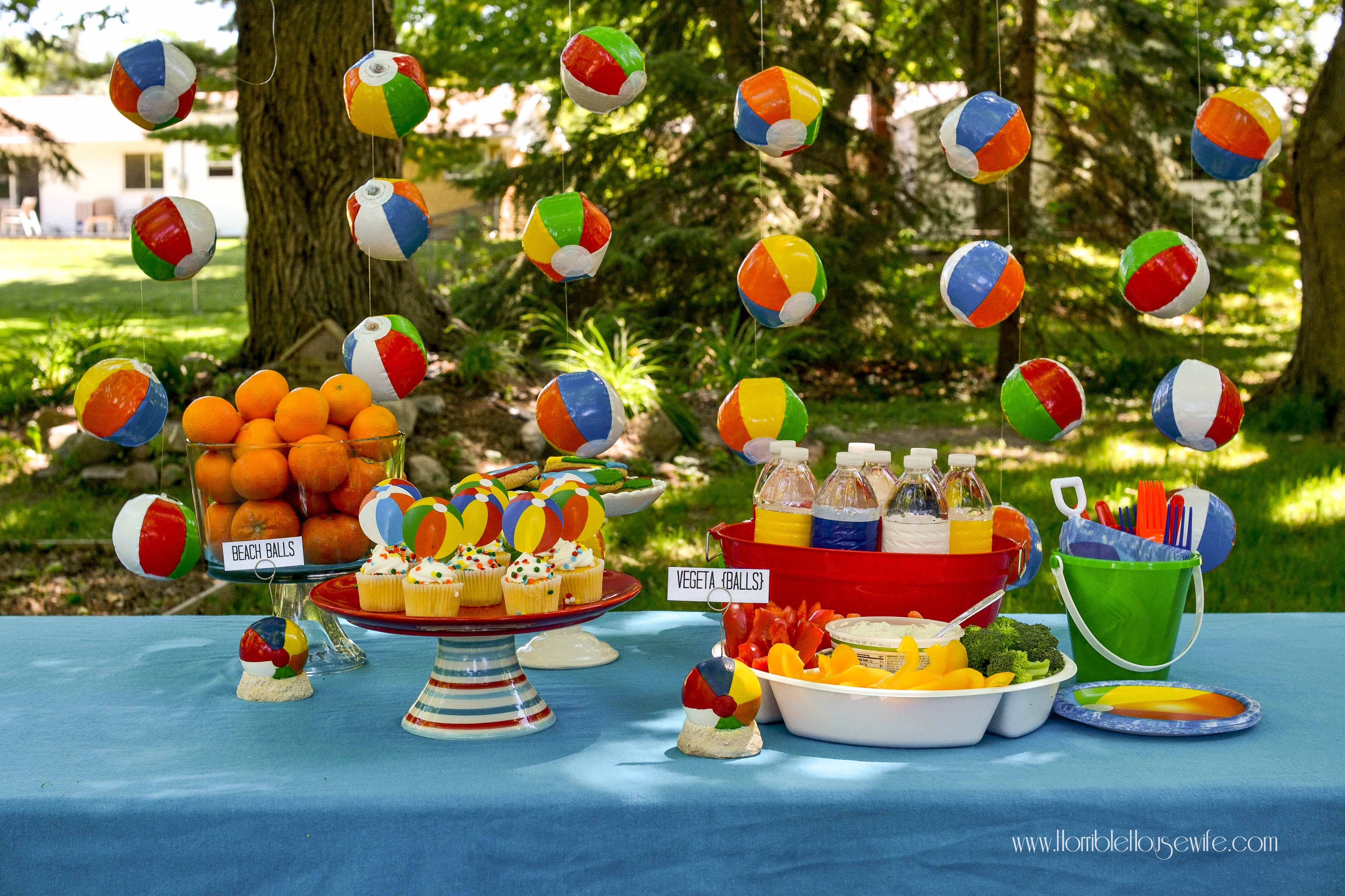 Beach Ball Party Decorations Beach Ball Party  Beach Ball And Themed Parties