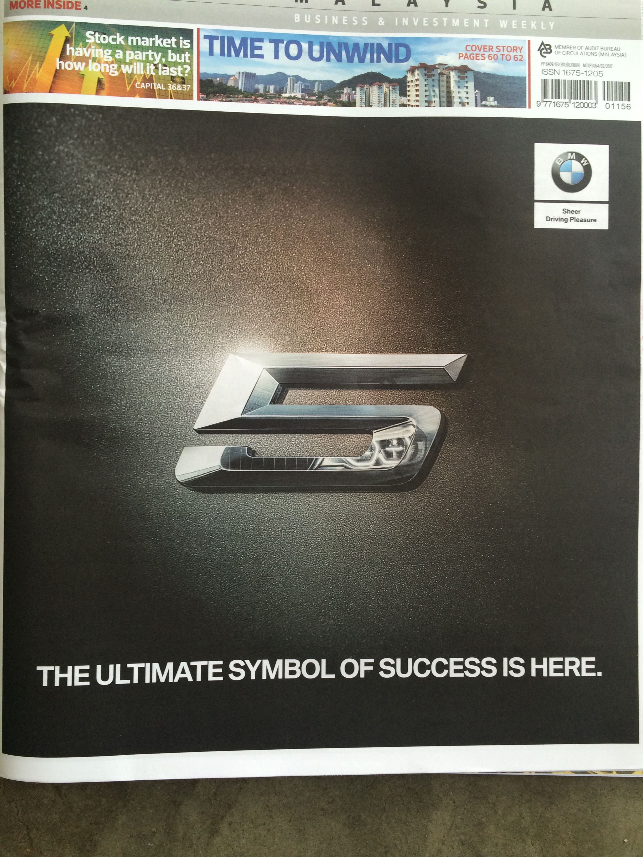Bmw malaysia ads transport business investment bmw