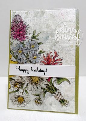 Dina Kowal Creative: Birthday batch!