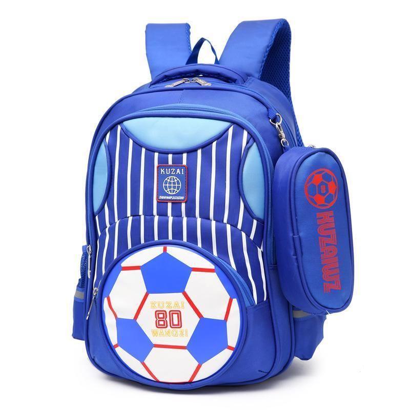 School Backpack Kids Soccer Bag World