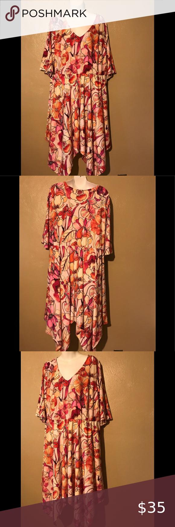 Summer Dress Avenue Asymmetrical Flowered Dress Size 18 20 Elastic Waistband Armpits 25 And Length 48 Avenue Dresses Summer Dresses Dresses Size 18 Dress [ 1740 x 580 Pixel ]