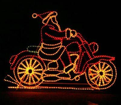Animated santa on motorcycle christmas light outdoor display with animated santa on motorcycle christmas light outdoor display with controller pre order christmas pinterest products mozeypictures Choice Image
