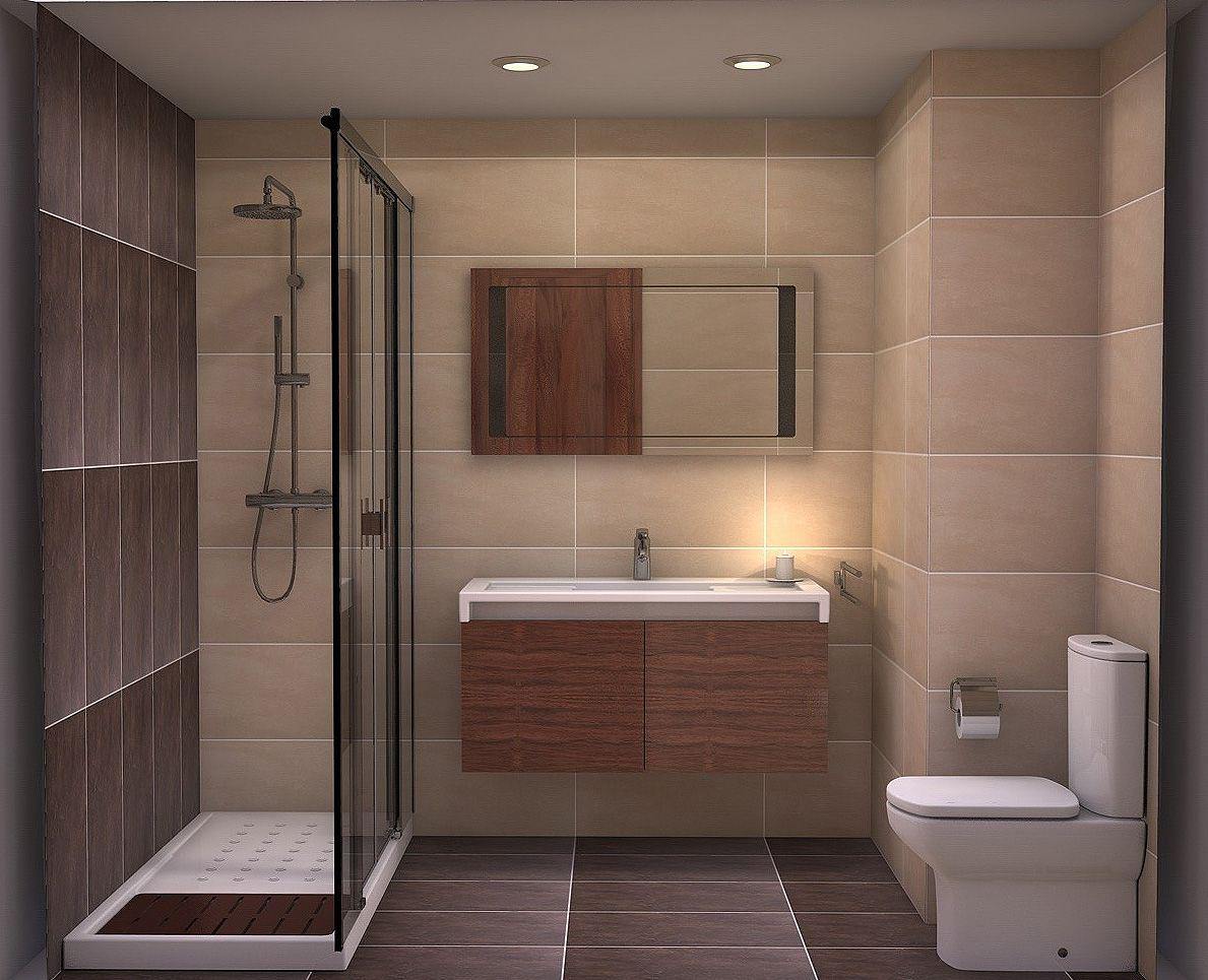 Ducha alargada ba os pinterest bathroom decor y home decor - Banos y duchas ...