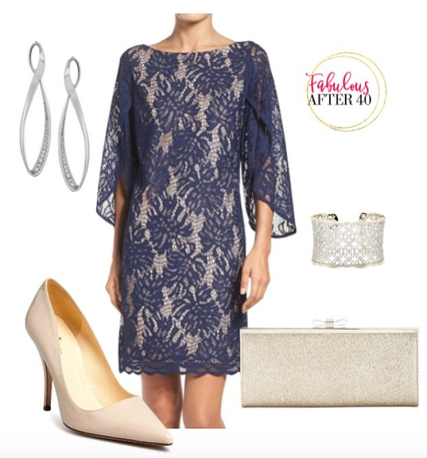What To Wear To A Wedding Reception Over 40 Lace Wedding Guest Dress Wedding Attire Guest Guest Attire