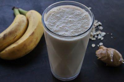 Godmorgen-smoothie med havregryn og banan