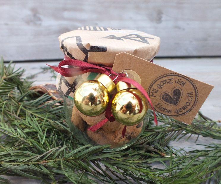 Weihnachts-Plätzchen und Kekse verpacken & verschenken #weckgläserdekorieren