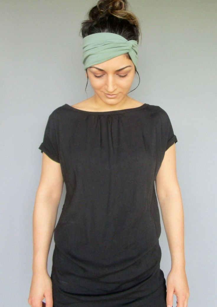 Headband for Women, Turban Headband, Women's Head Wrap, Yoga Headband, Headscarf for Women, Summer Jersey, Extra Stretchy Headband   - Accessories for Moms -