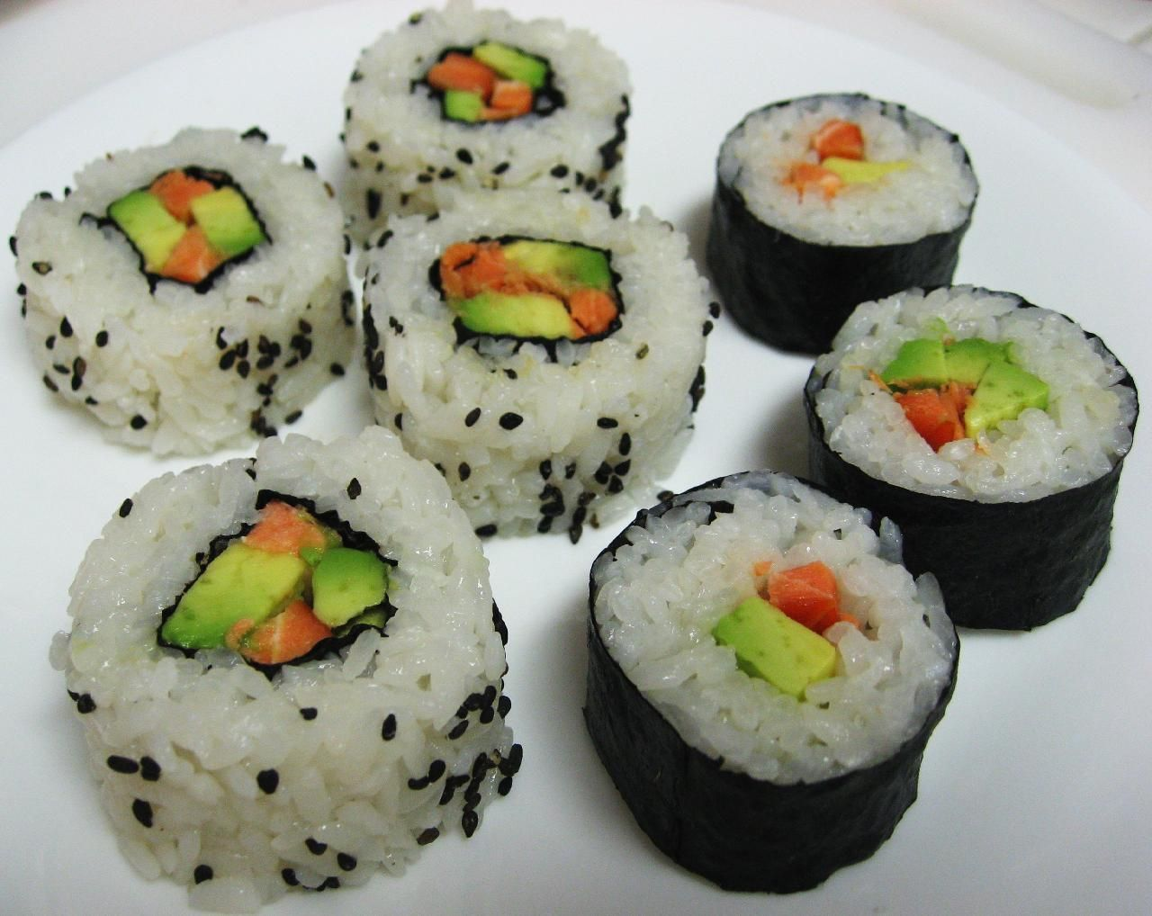 My favorite sushis greed is good ricette sushi for Ricette asiatiche