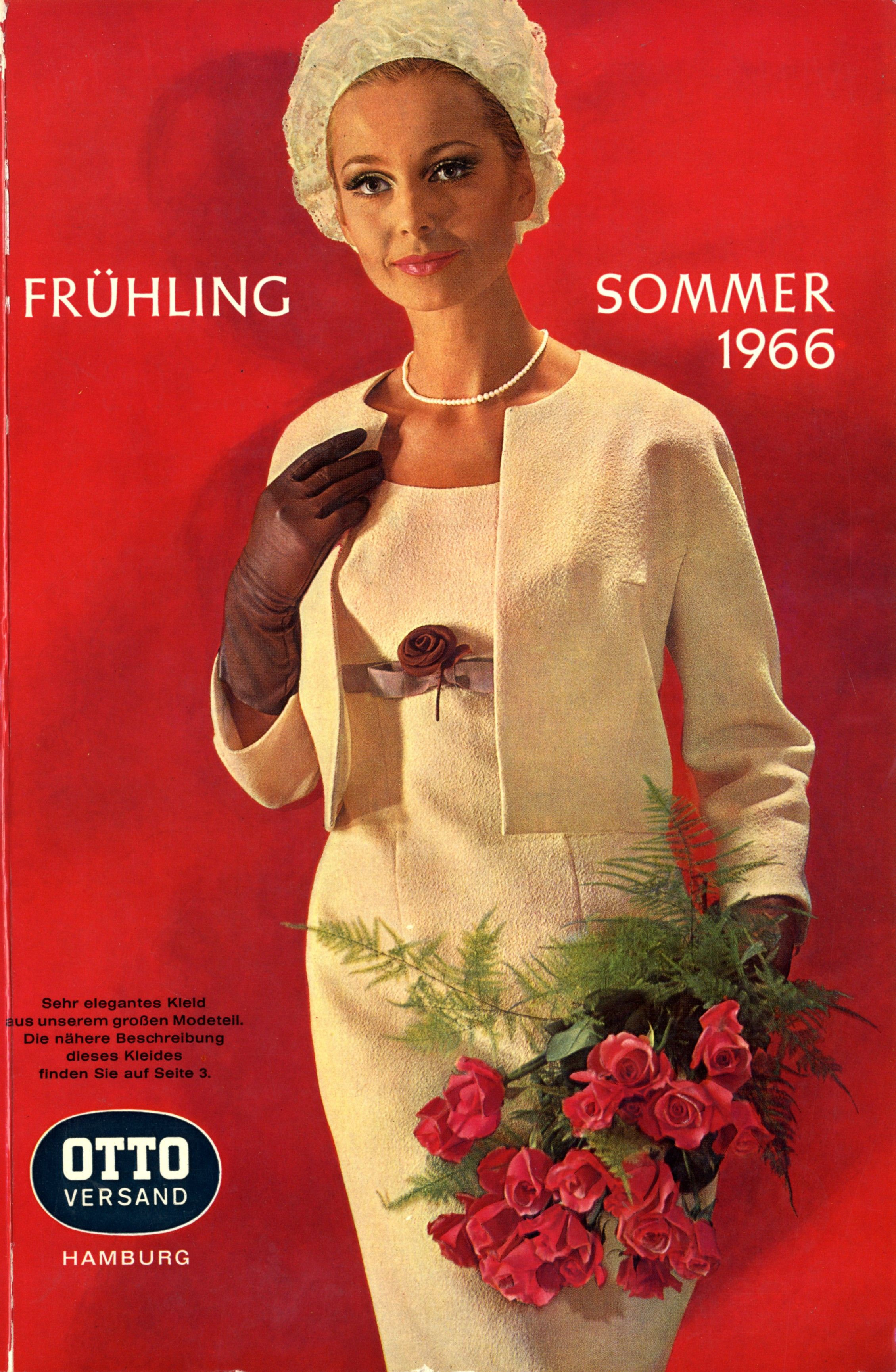 Katalogcover fr hjahr sommer 1966 in diesem jahr befinden sich im otto katalog erstmals st cke - Yellow mobel katalog ...
