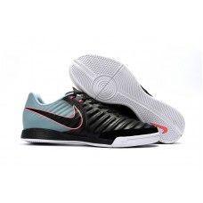 Barato Botas De Futbol Sala Nike Tiempo Ligera IV IC Negras Grises Online 8a8762deb6451