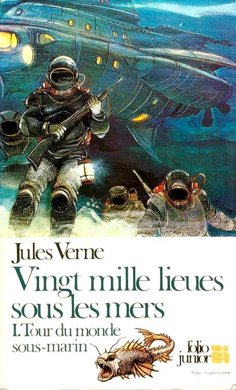 Portadas De Libros Jules Verne Comic Artist Leagues Under The Sea