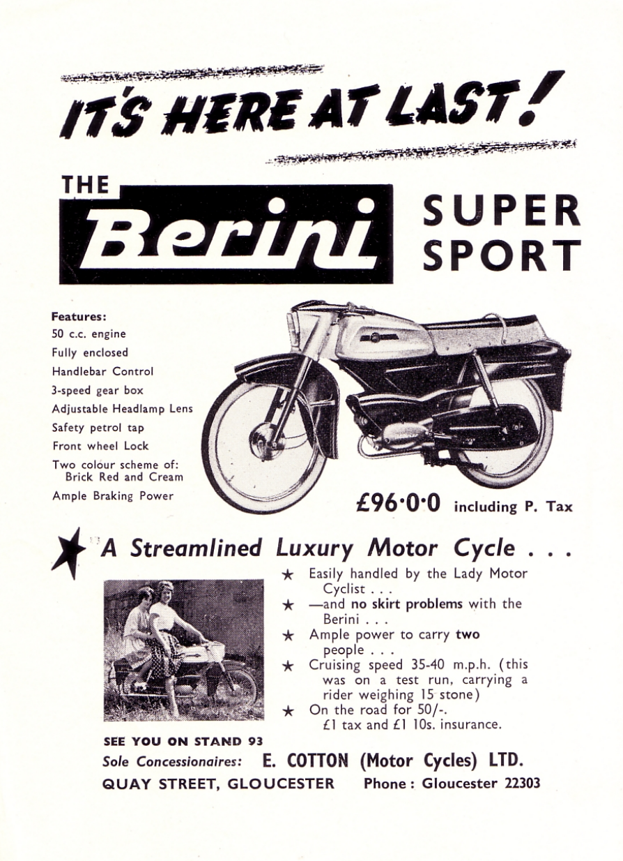 Berini Super Sport Super Sport Cycle Luxury Motor