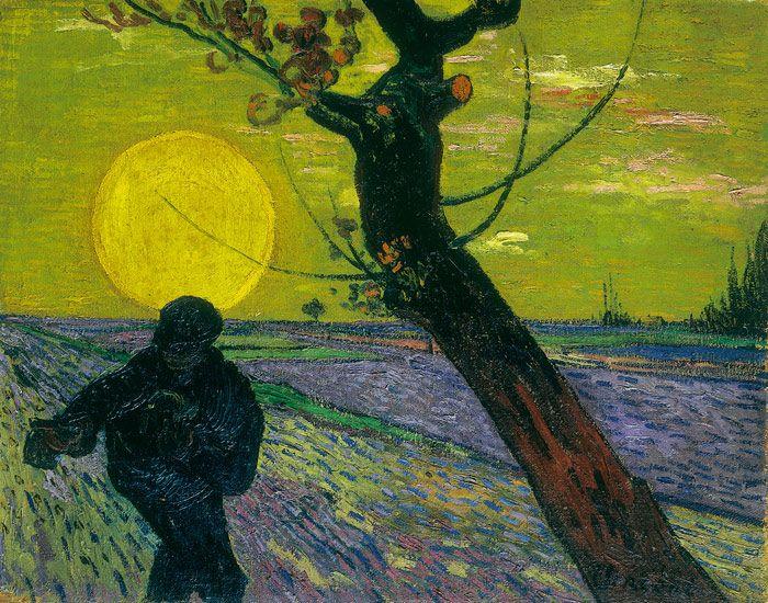 Vincent van Gogh, Sämann bei Sonnenuntergang, 1888, Oil on canvas, 73 x 92 cm, Foundation E.G. Bührle Collection, Zurich