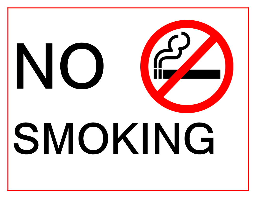 photograph about Printable No Smoking Sign titled Pin upon Signs and symptoms