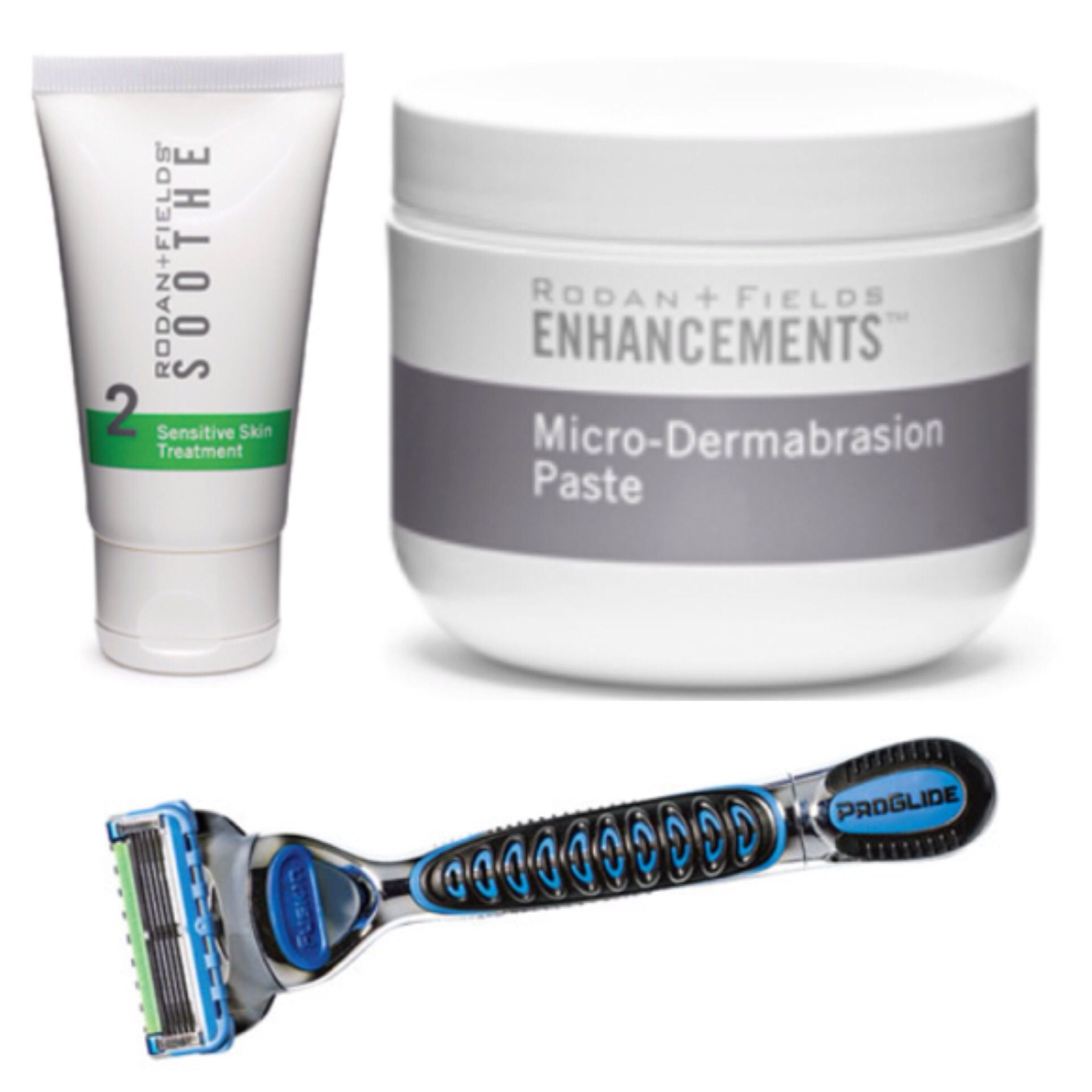 SMOOTHEST SHAVE EVER!! Rodan+Fields products can be used