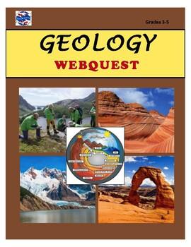 Geology WEBQUEST by Lucky Koi Learning | Teachers Pay ...