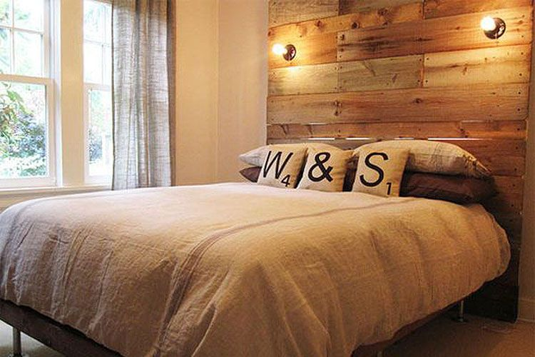 Cabecero De Cama Con Apliques Decoracion De Interiores Dormitorios Modernos Hogar