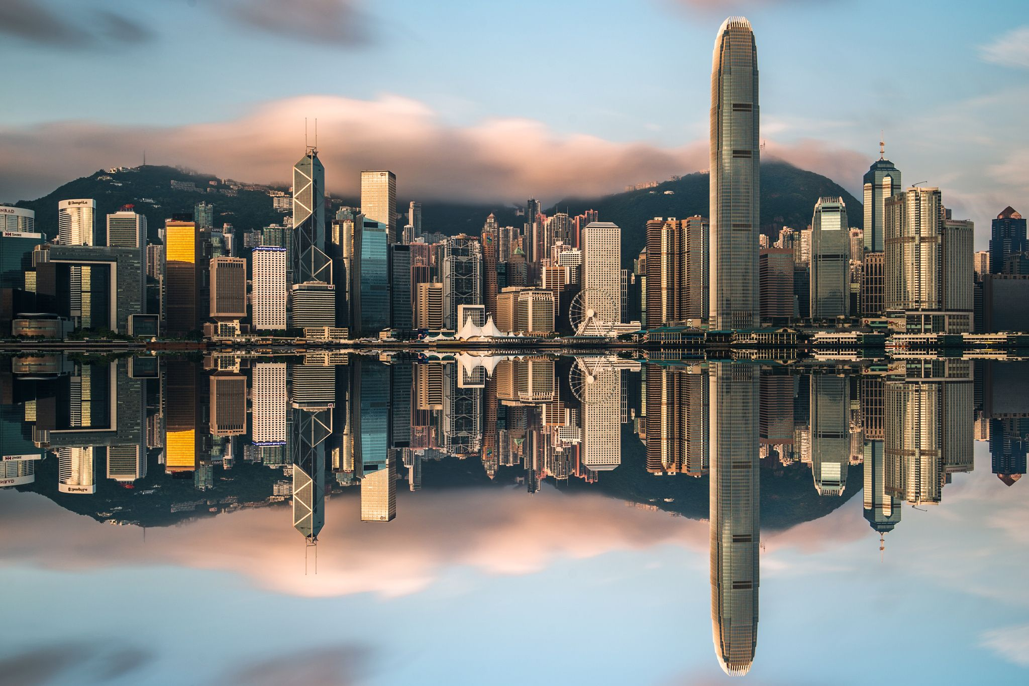 Photograph Sunrise@Victoria Harbour by Cai Wu on 500px, Photograph taken at 6:30 am, Hong Kong, China