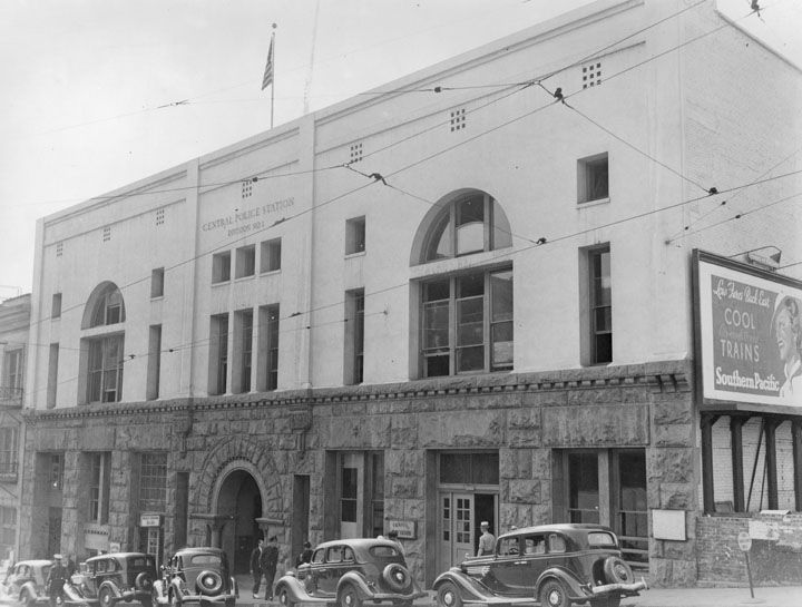 Full Record Police Station Los Angeles History Los Angeles