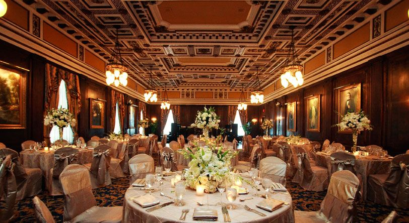 Have Your Wedding And Reception At The Hermitage Hotel In Nashville