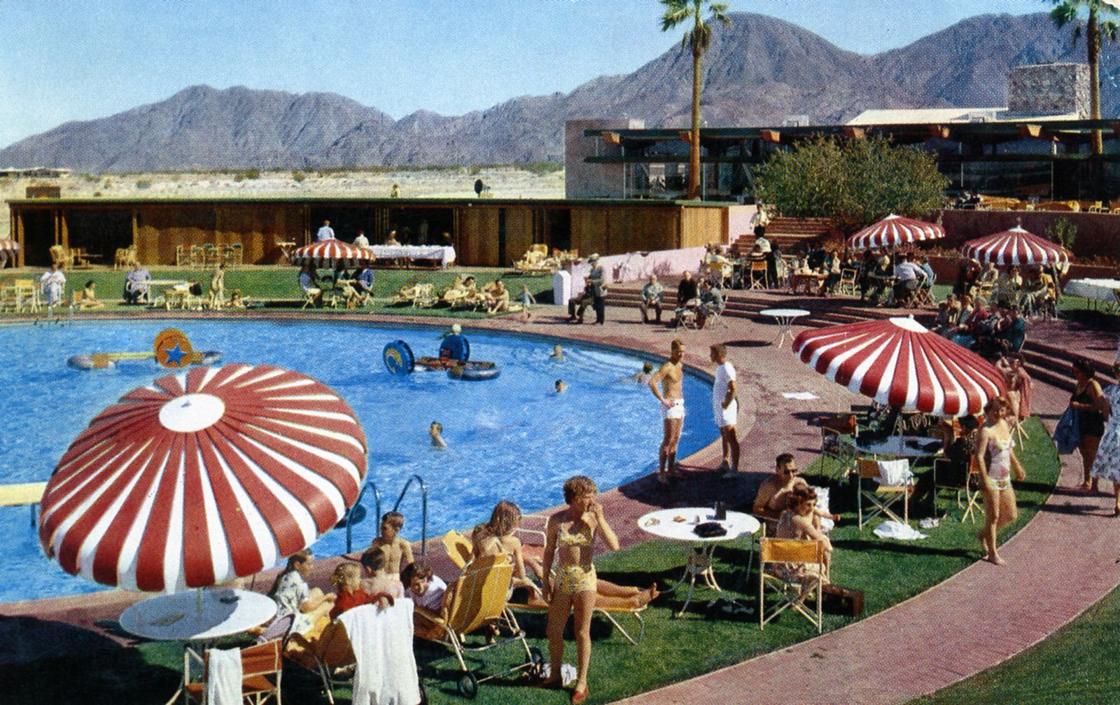 Shadow Mountain Club Swimming Pool Palm Desert Ca Vintage Pool Parties Palm Springs Vintage Patio
