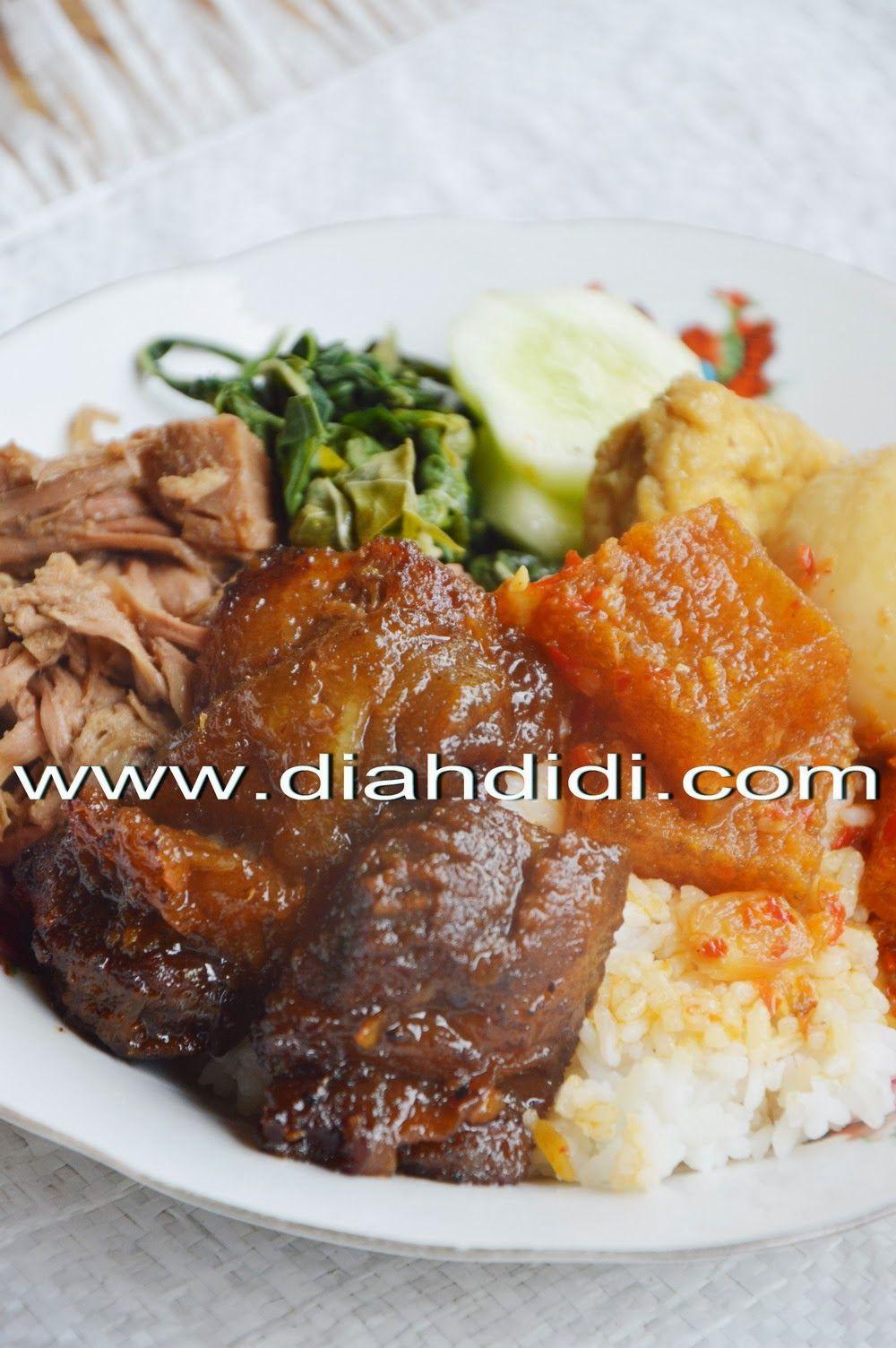 Diah Didi S Kitchen Gudeg Koyor Goreng Khas Semarangan Masakan Resep Masakan Indonesia Masakan Indonesia
