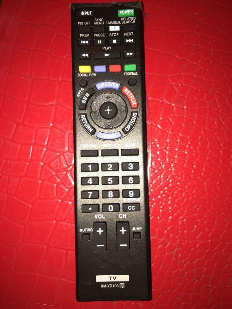 SONY RM-YD103 RMYD103 LED SMART HDTV REMOTE CONTROL NETFLIX