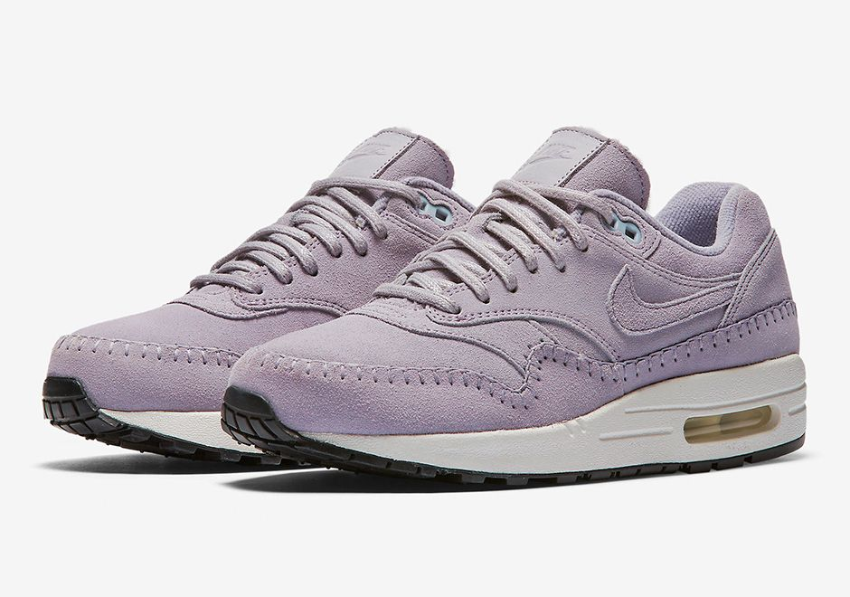 purchase cheap 26cbb ea537 This Women s Nike Air Max 1 Premium Is Done In Lavender