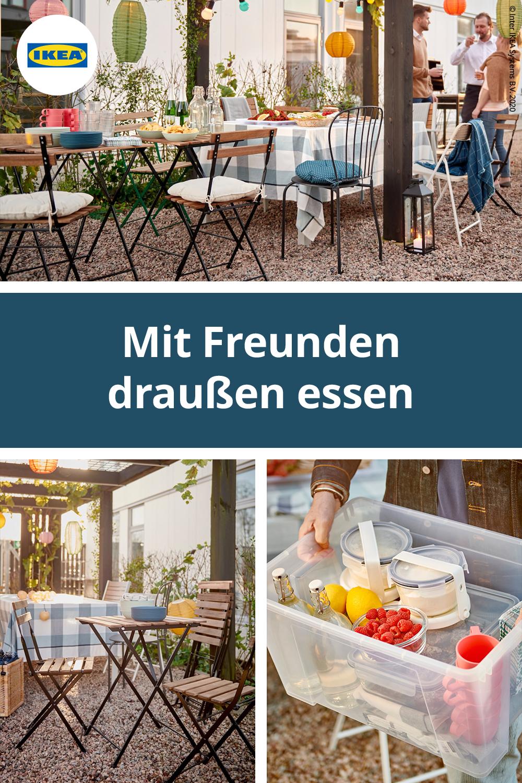 Ideen für Outdoor Partys IKEA Deutschland