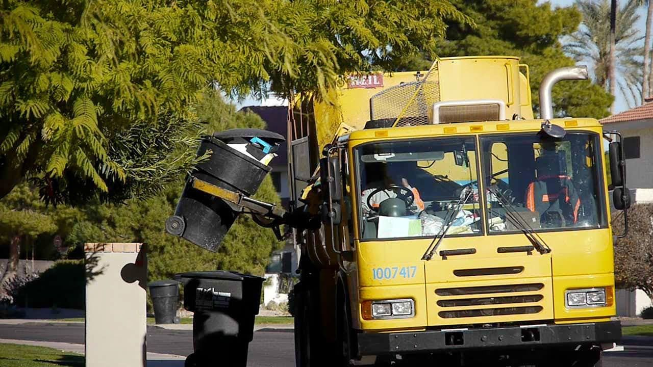 Garbage Truck Video For Kids Garbage Truck Truck Videos For Kids Garbage