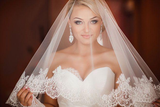 awesome Роскошный макияж на свадьбу (50 фото) — Как создать нежный образ невесты