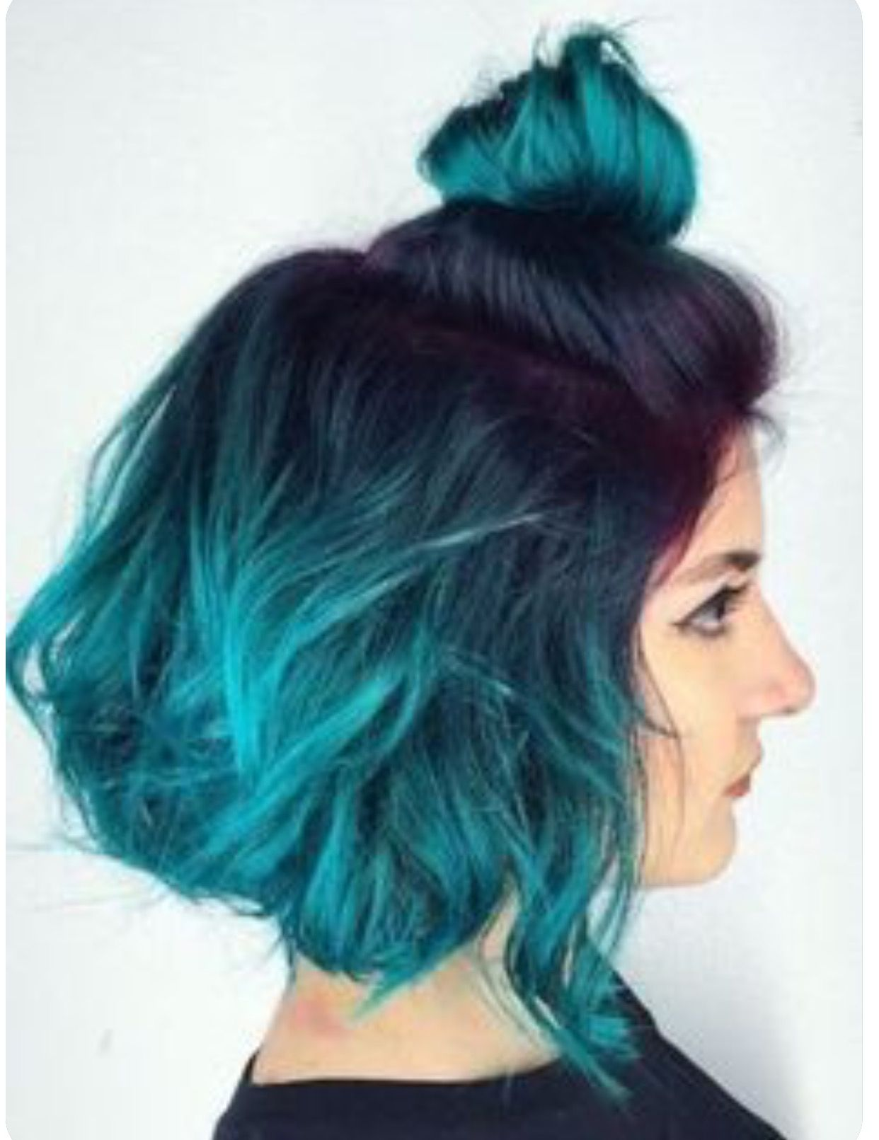 Pinterest Maebelbelle Teal Hair Dye Blue Ombre Hair Hair
