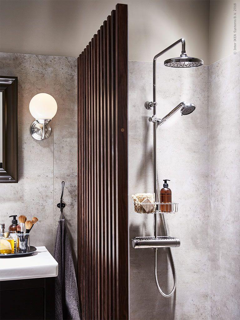 Voxnan Takduschset Med Termostatblandare Bathroom Lave