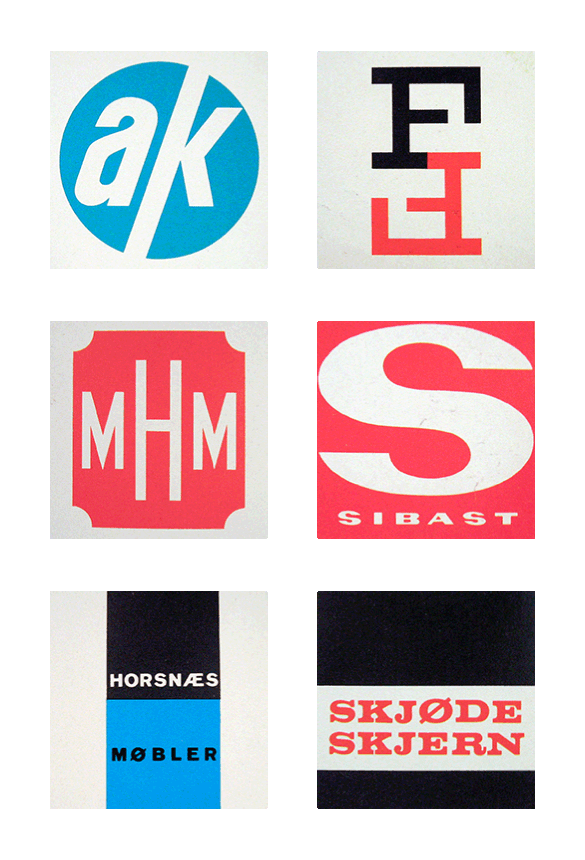 Friday Find Scandinavian Logos From The 1960s 70s Graphic Design Logo Vintage Graphic Design Vintage Logo