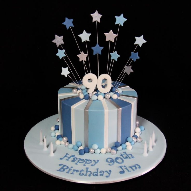 Birthday Cake Could Easily Be Changed To A Th Cake For Tony - Male cakes birthdays