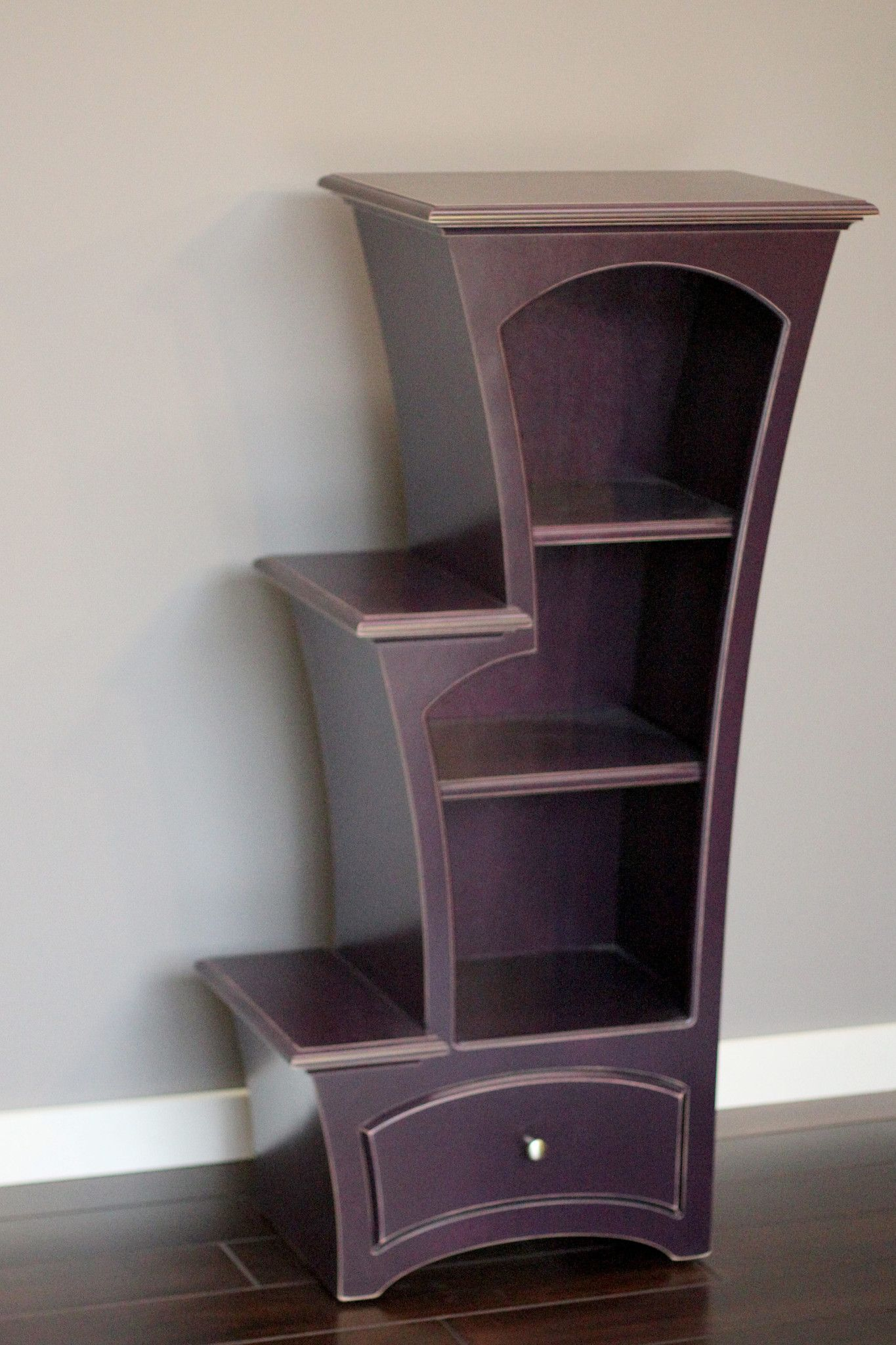 Bookcase No. 7 - Stepped Display Bookcase | Bookcase ...