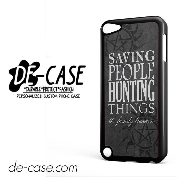 Supernatural Quote For Ipod 5 Ipod Touch 5 Case Phone Case Gift Present YO