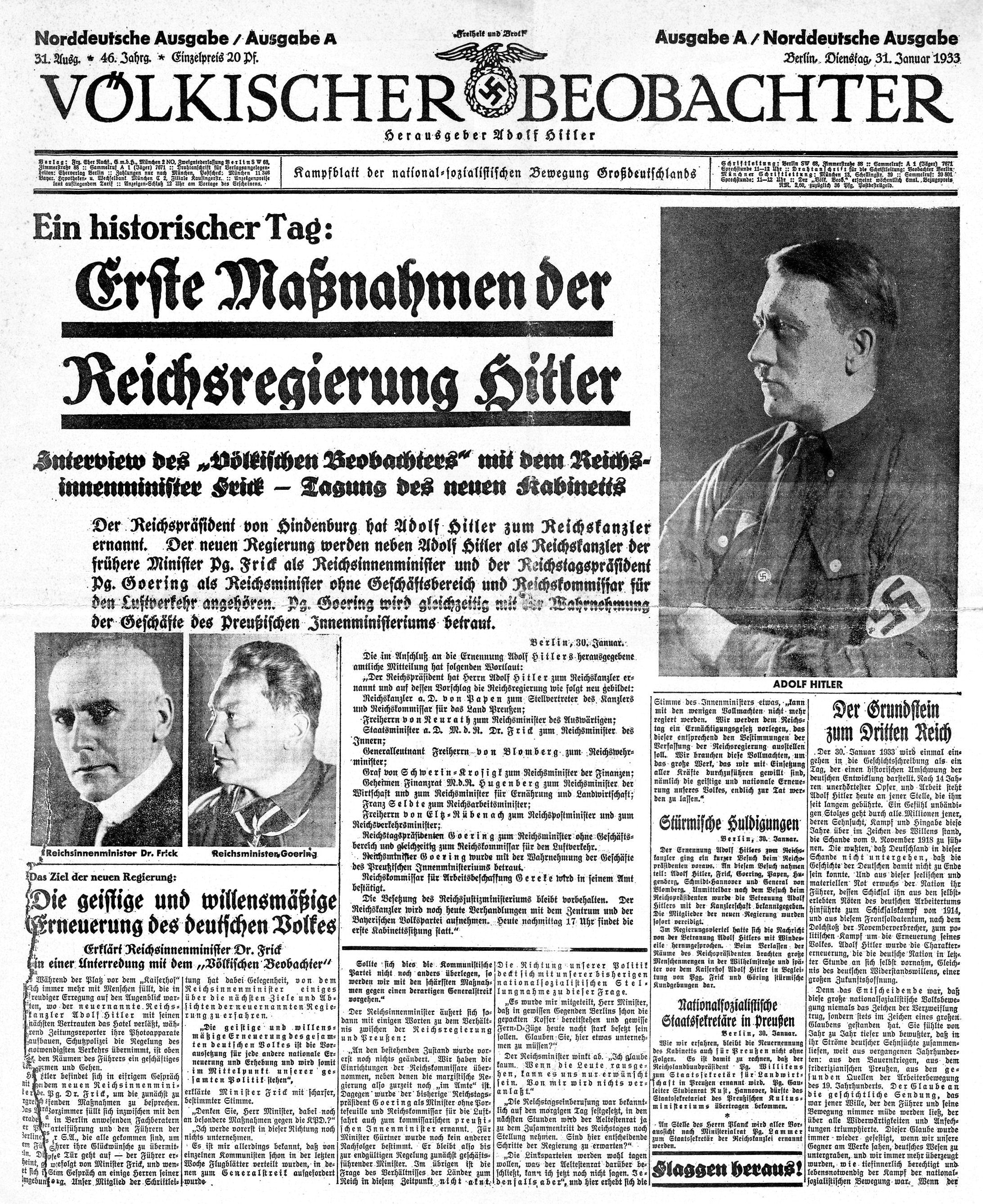 Nazi Newspaper Propaganda Fdbfdbcdabced Nazi Newspaper Propaganda