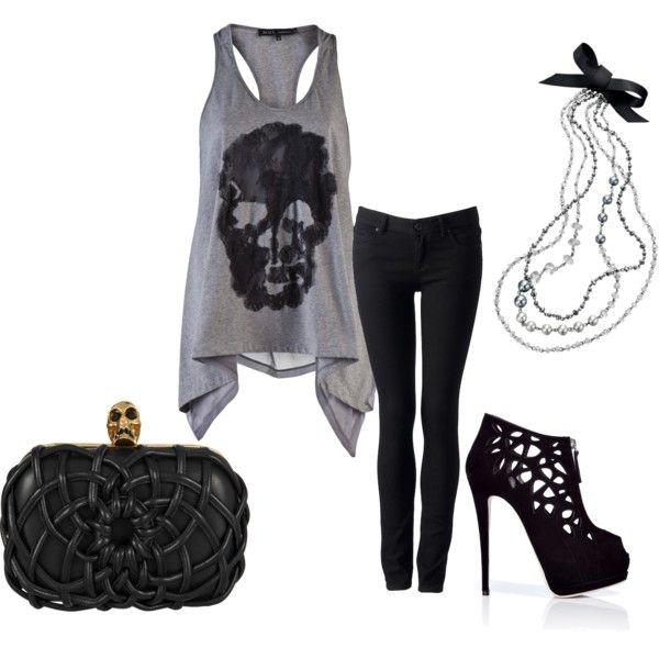 Polyvore Rock Concert Outfit | www.imgkid.com - The Image Kid Has It!