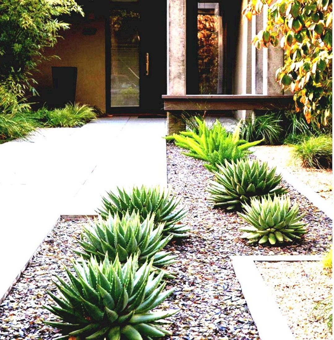 10 Simple And Minimalist Garden Design For Home Yard Ideas