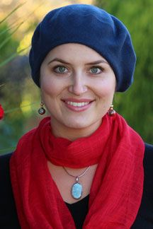 Don't you just love the versatility of a classic wool beret? Soft, simple and seamless, so it's also a great hat for cancer patients.