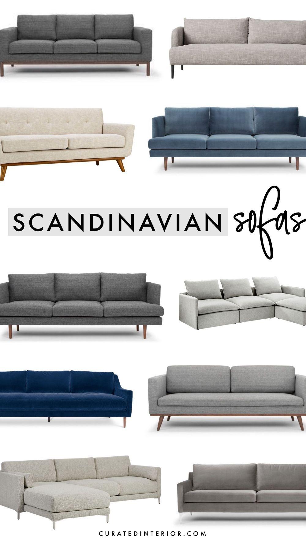 20 Minimalist Scandinavian Sofas in Gray, Beige, & Blue ...