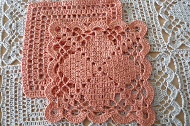 Gorgeous Bedspread Made From Two Motifs Free Pattern Hekel