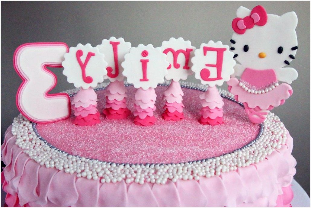 Hello Kitty 2 Tier Birthday Cake Hondudiariohn Pinterest