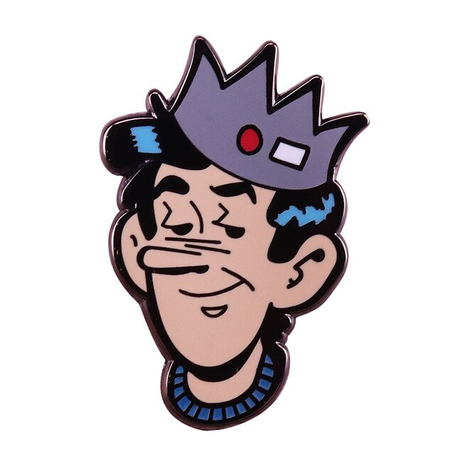Riverdale Jughead Jones Pin Crown Hat With Red Button And White Tag Brooch Beanie Whoopee Cap Badge Archie Comics Fan Archie Comics Jughead Jones Jughead Crown Search, discover and share your favorite crown cartoon gifs. riverdale jughead jones pin crown hat