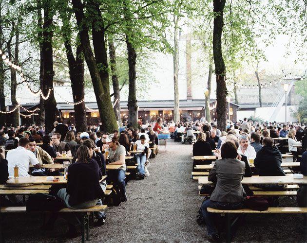 Prater Garten Berlin Biergarten