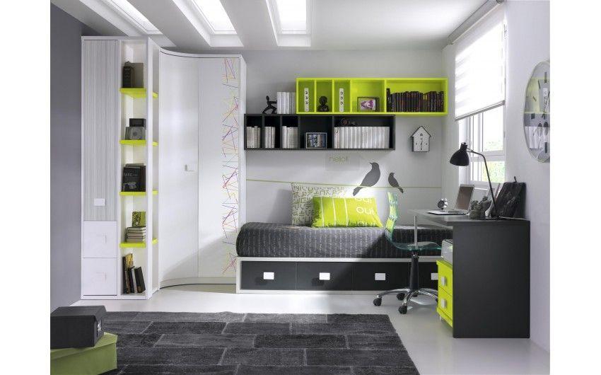Dormitorios juveniles modernos buscar con google for Habitaciones juveniles modernas