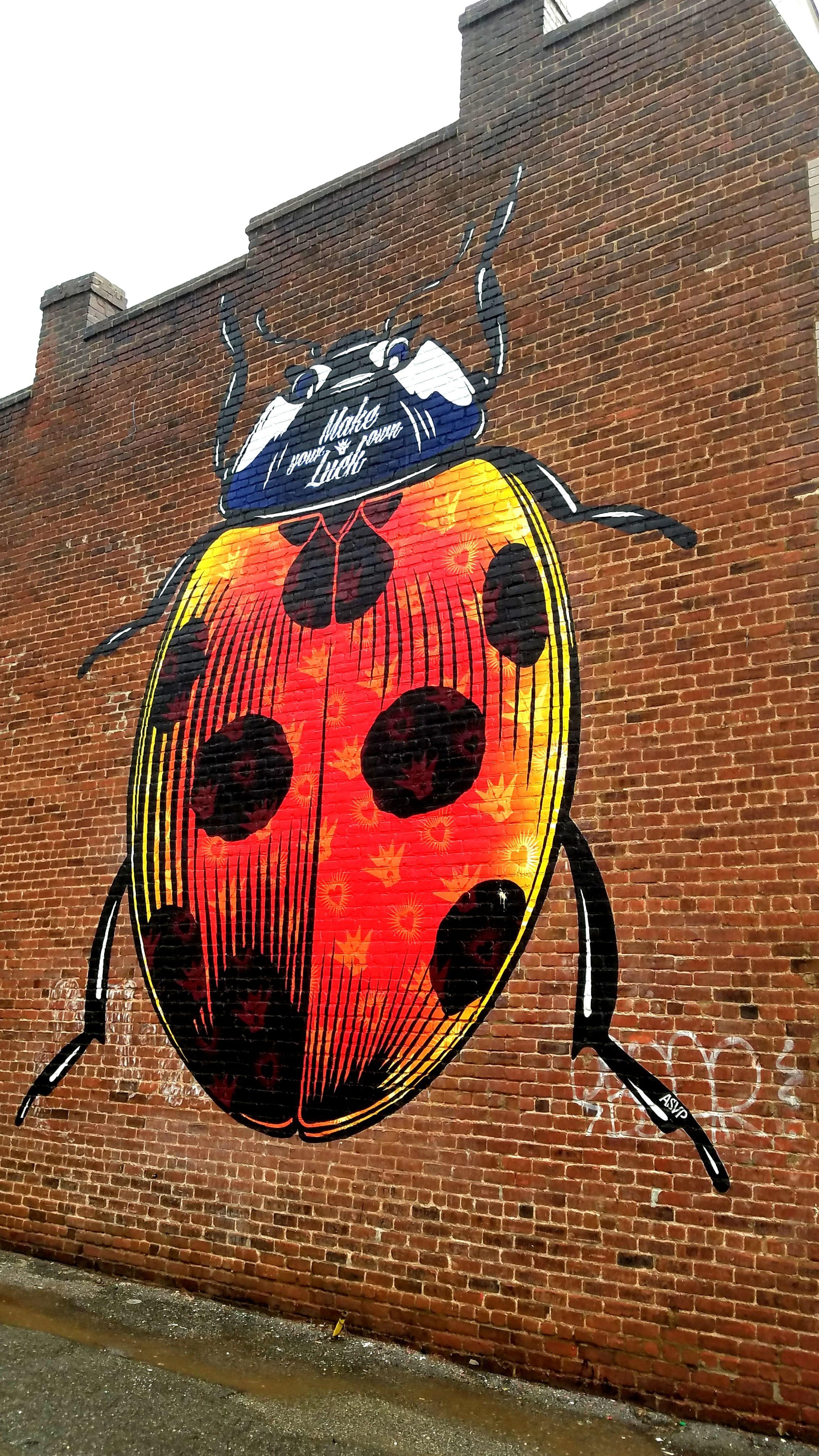 Richmond, VA Street Art & Graffiti. There is an
