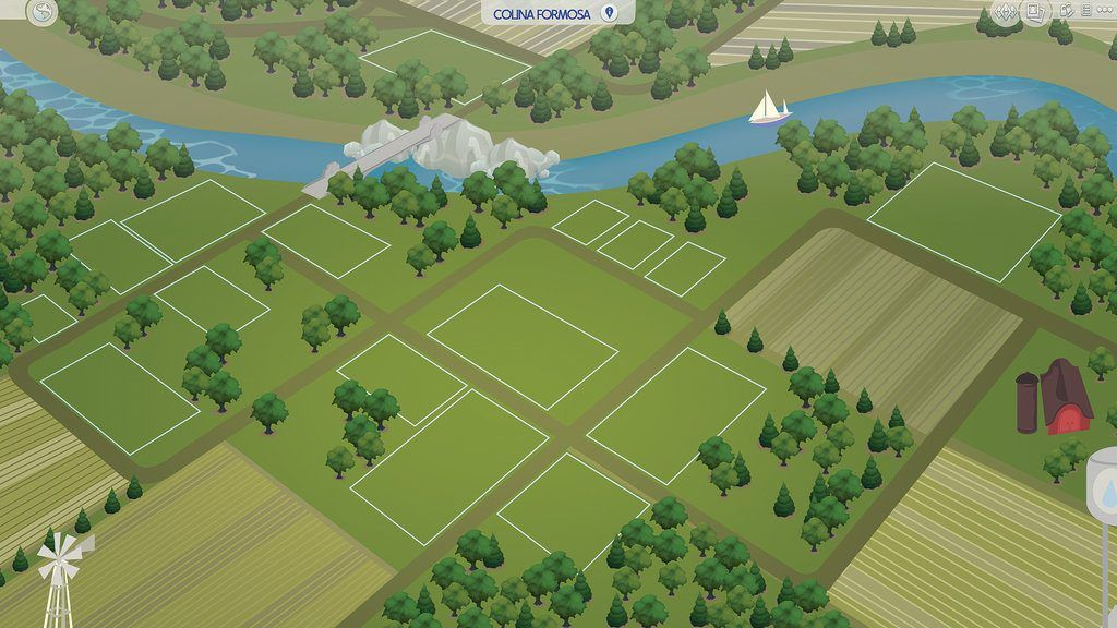 Fan made world sims pinterest sims fans and sims cc sims 4 fanmade map riverblossom hills by filipesims gumiabroncs Choice Image